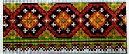 схема вышивки змея
